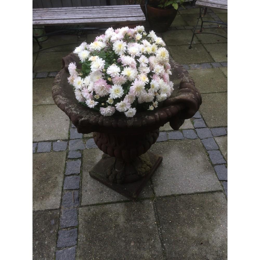 Antik Blomster Krukke-31