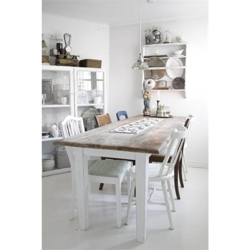Spisebord Masiv Bordplade i Natur-31