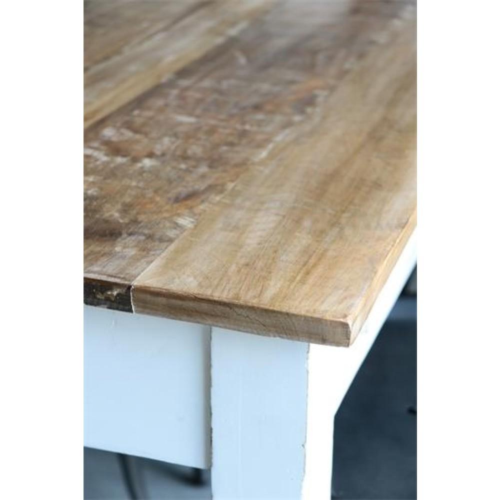 Massivt Skrivebord i Mangotræ-31