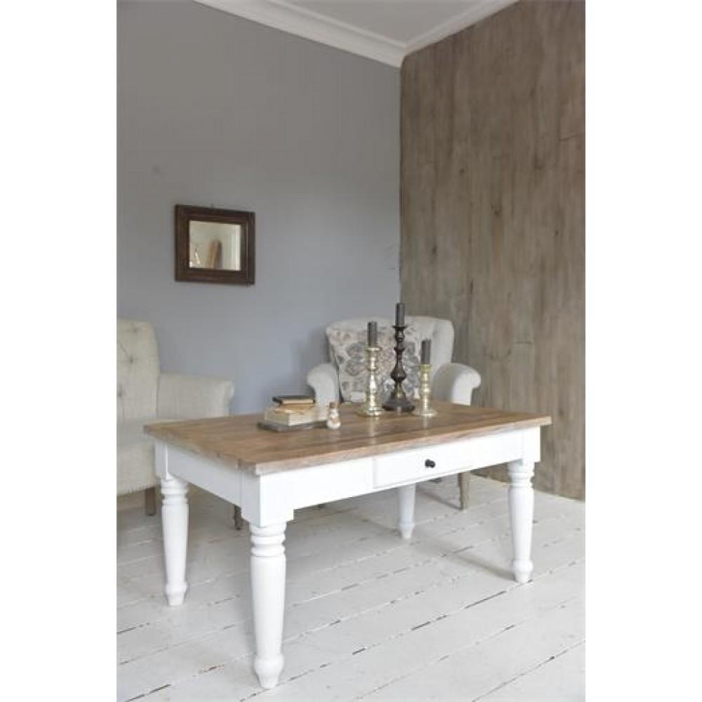 Sofabord i Mangotræ Natur-33