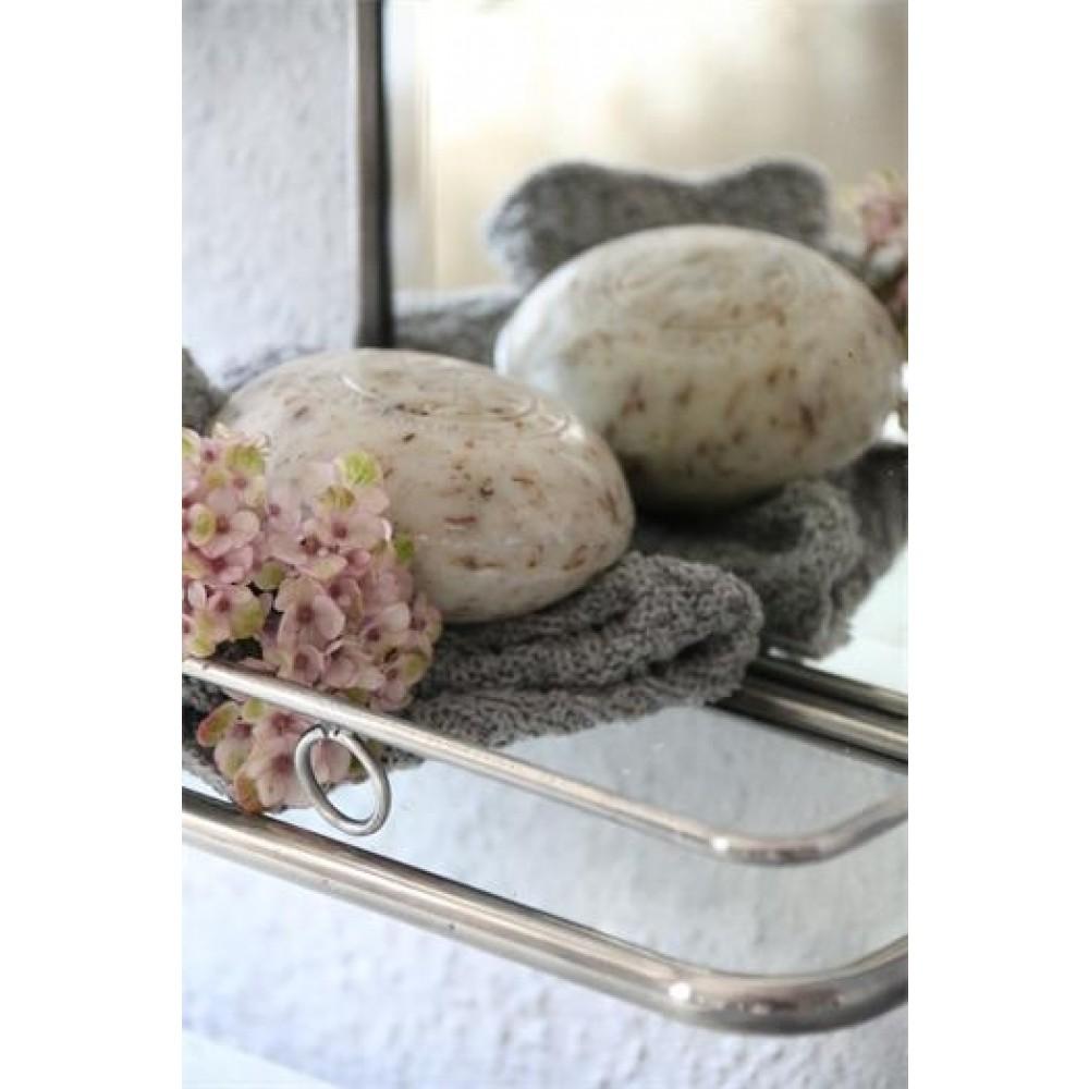 Badeværelses spejl m hylde-31
