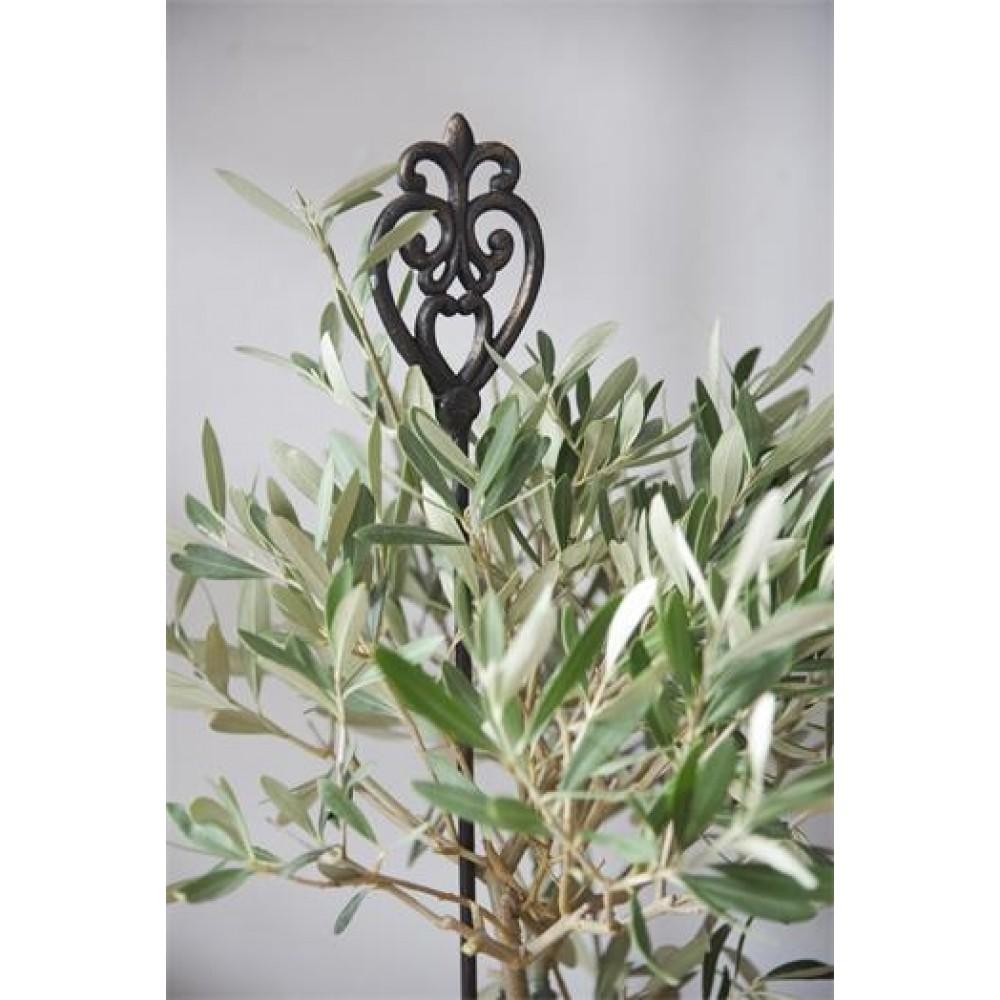 Plantespyd med Monogram 35 cm Mørk Vintage-32