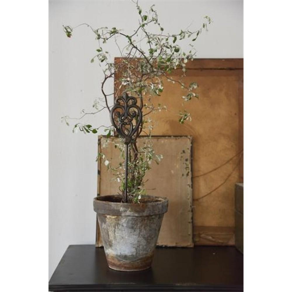 Plantespyd med Monogram 85 cm Mørk Vintage-31