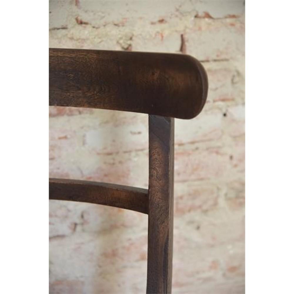 Spisebordstol Træ Antik Look Serien-31