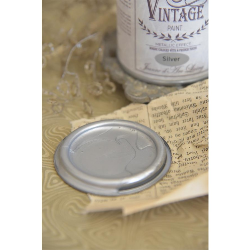 Vintagepaint Sølv-32