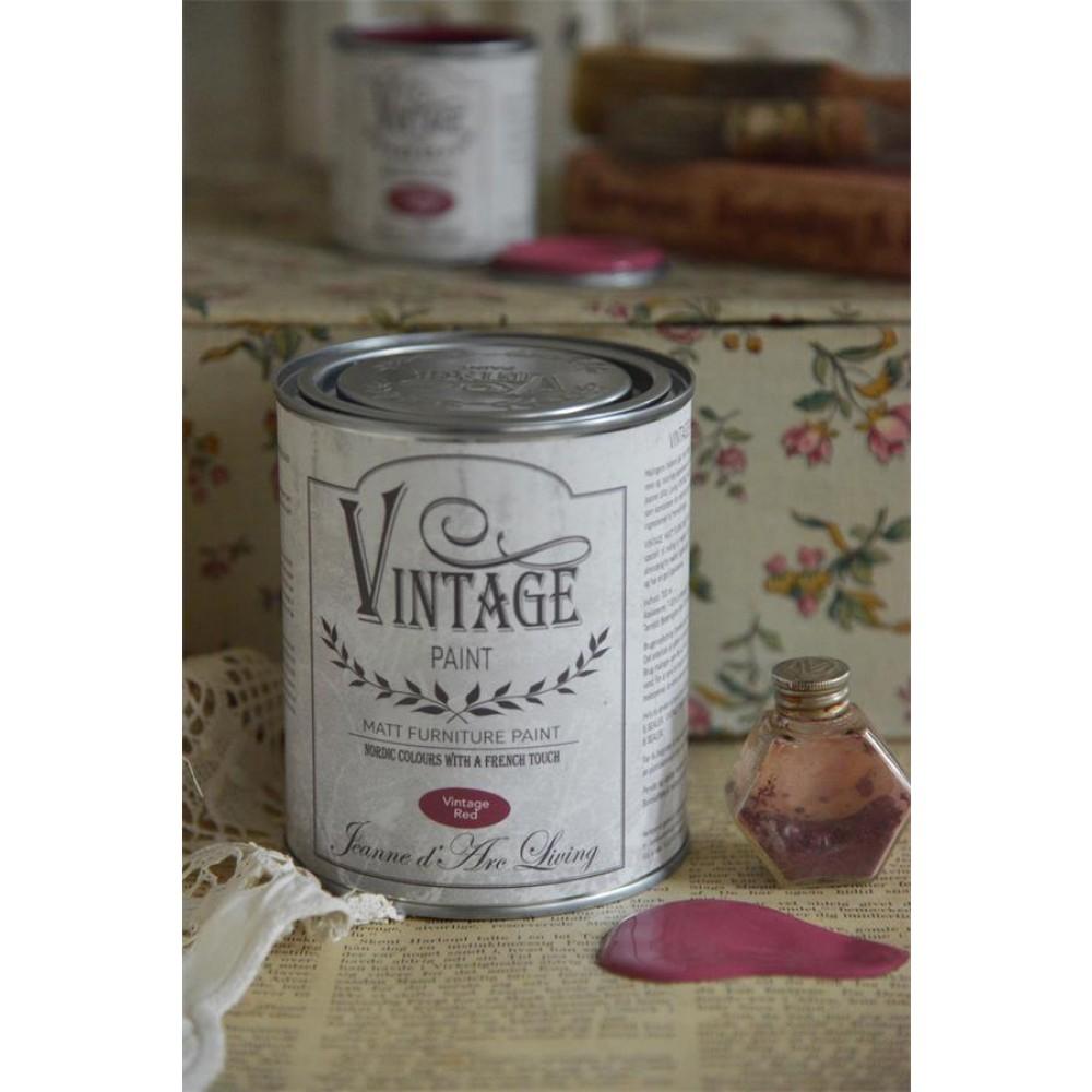 Vintage Red Vintagepaint-31