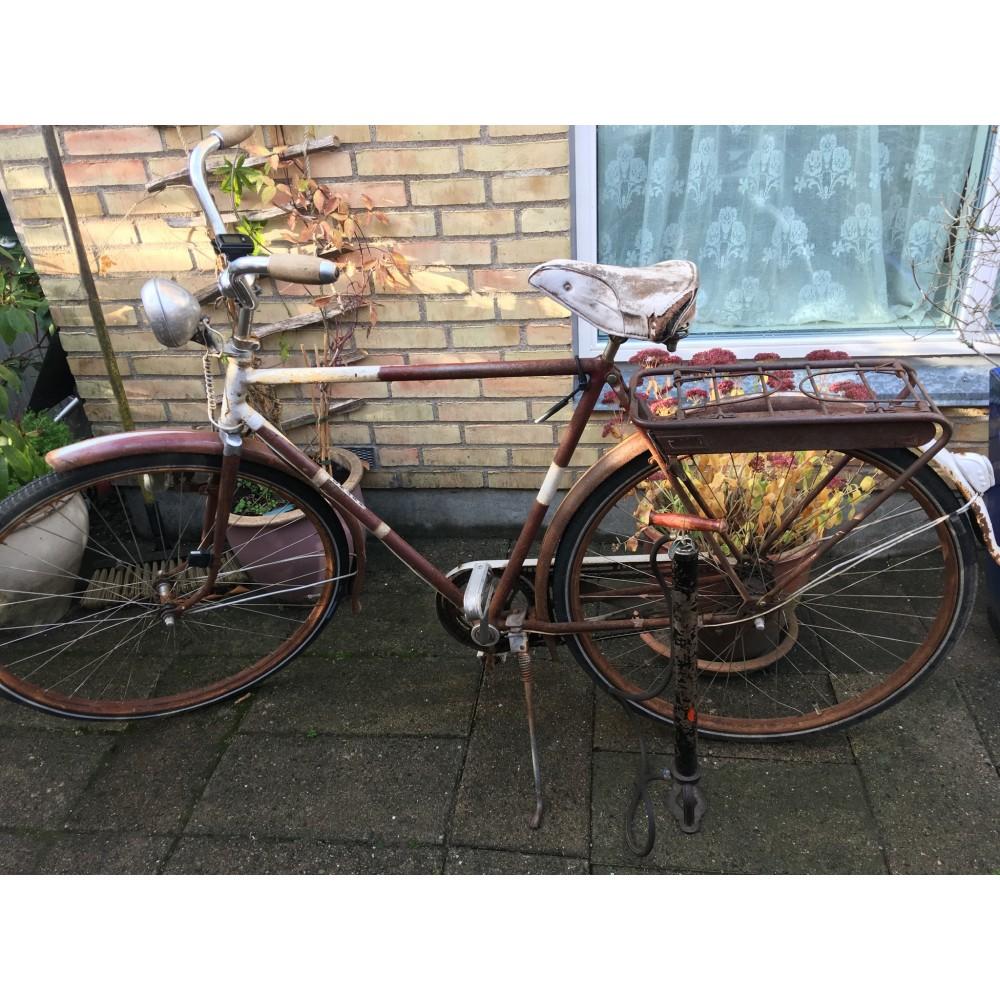 Gammel Retro Cykelpumpe-34