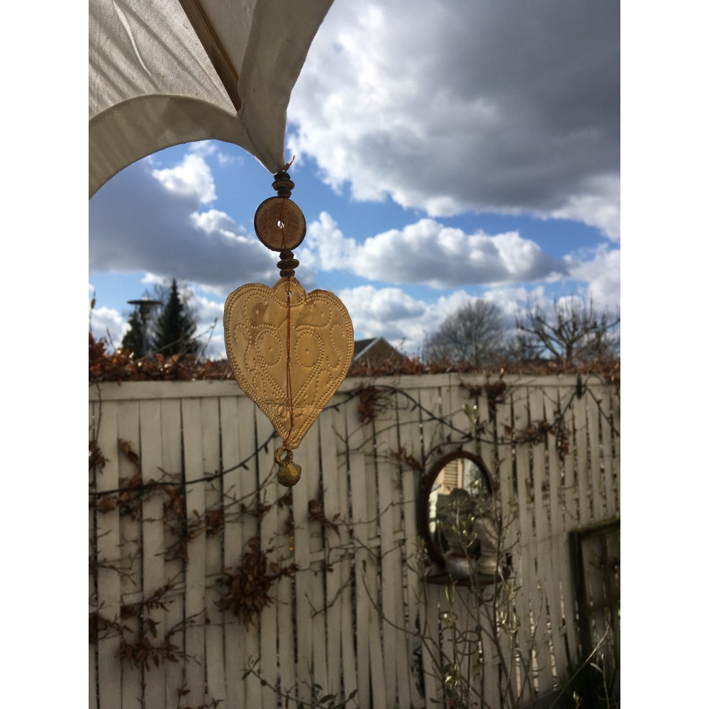 Romantisk Parasol med Hjerter-318