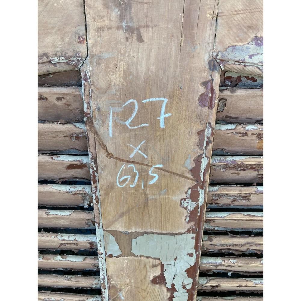 Franske Skodder med Bue 127x63,5-32