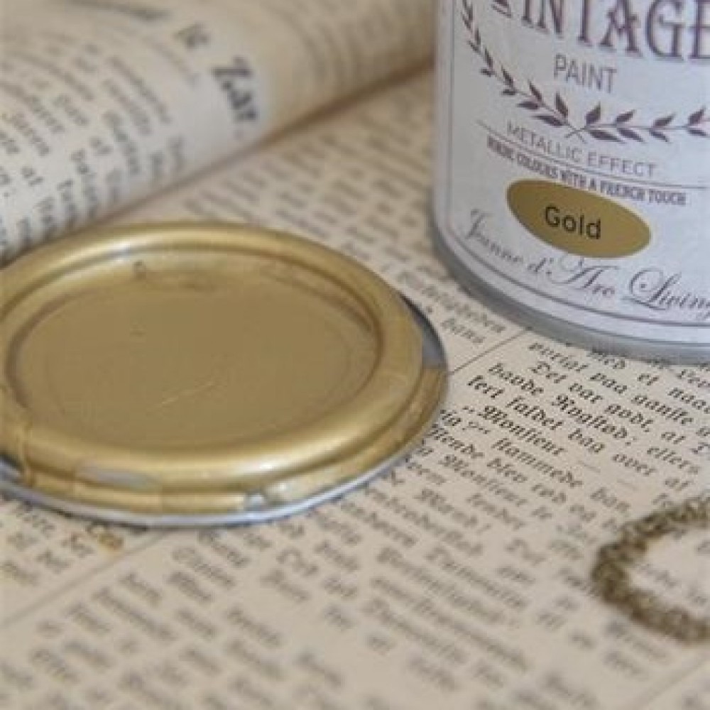 Vintagepaint Guld-31