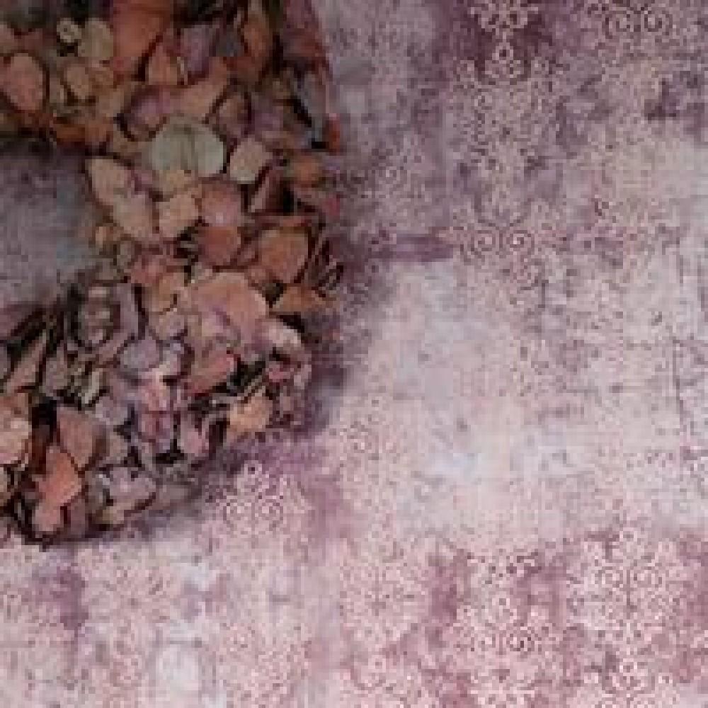 Vintage Tapet Violet/rosa-32