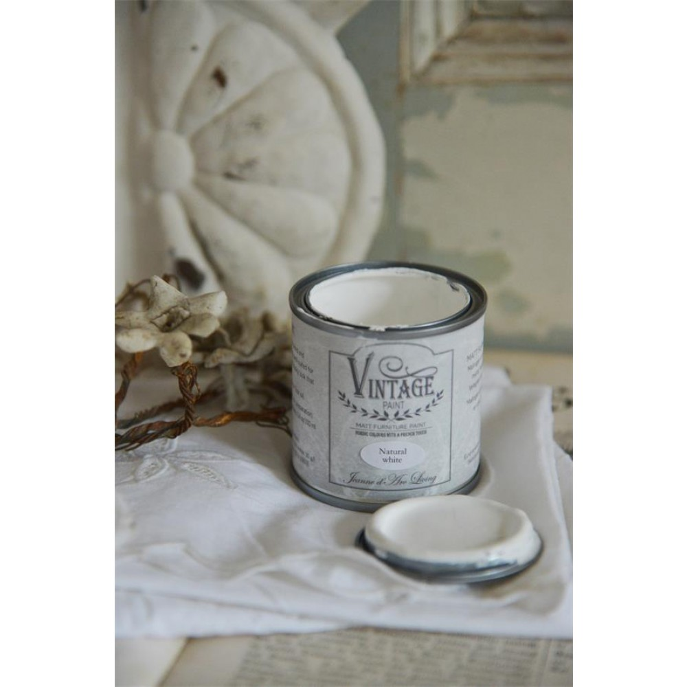 Natural White Vintagepaint Wall Paint-36