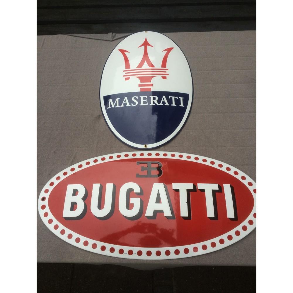 Emalje Skilte Bugatti and Maserati-33