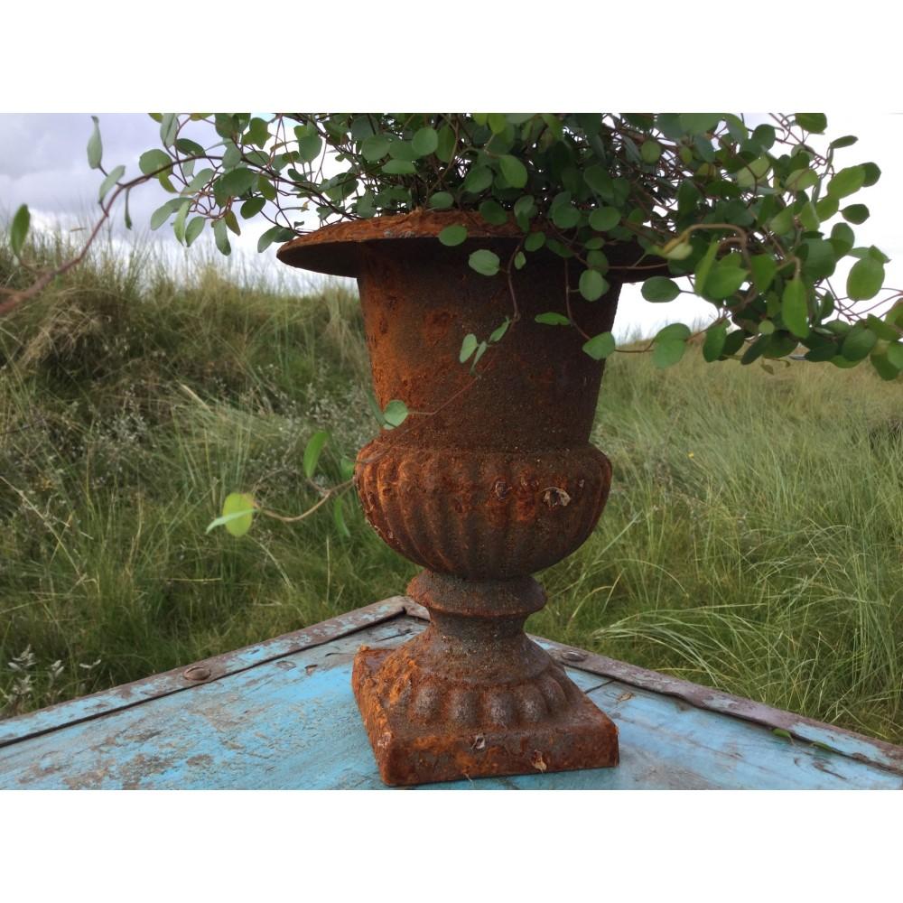 Pokal Vase Rust Look-33