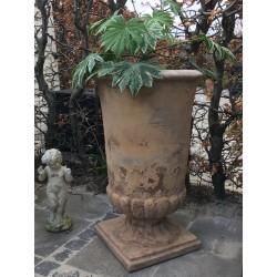 Stor Pokal Krukke Antique Terracotta-20