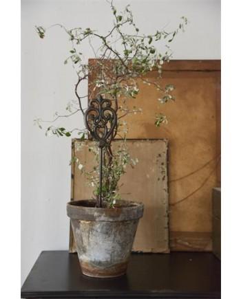 Plantespyd med Monogram 35 cm Mørk Vintage-20