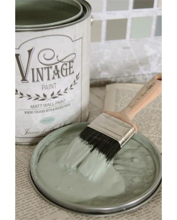 Dusty Green Vintage Wall Paint-20