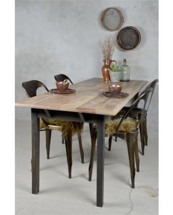 Spisebord Sort Natur-20