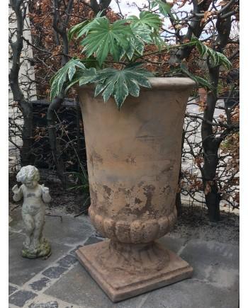 Stor Pokal Krukke Antique Terracotta