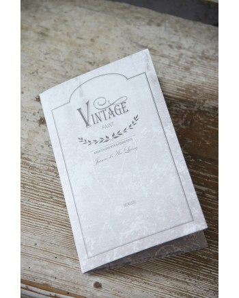 Farvekort for Vintagepaint fra Jeanne D´Arc Living