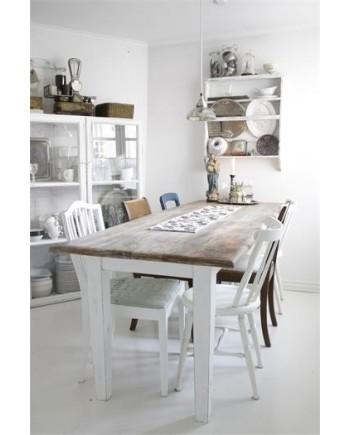 Spisebord Masiv Bordplade i Natur