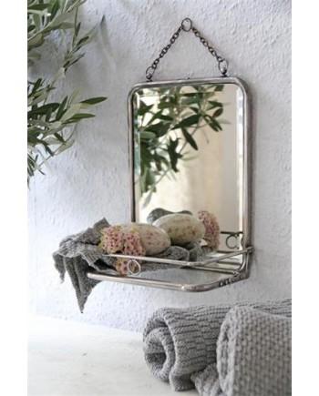 Badeværelses spejl m hylde