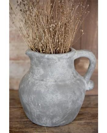 Potte Kande med Patina - Warm Grey