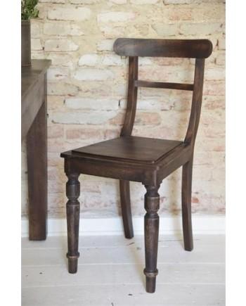 Spisebordstol Træ - Antik Look Serien