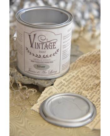 Vintagepaint Sølv