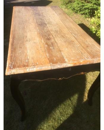 Rustikt Spisebord med Bordplade i Genbrugstræ