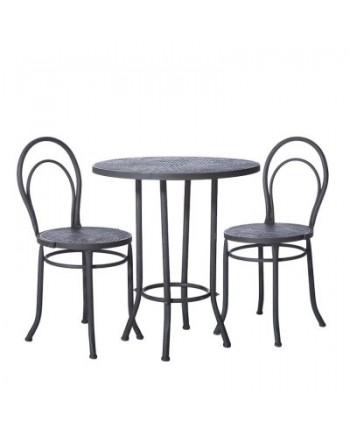 Cafesæt Bord + 2 Stole