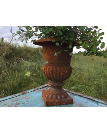 Pokal Vase Rust Look