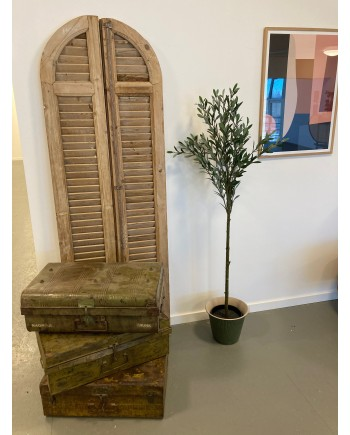 Dekorative Metal Kuffert