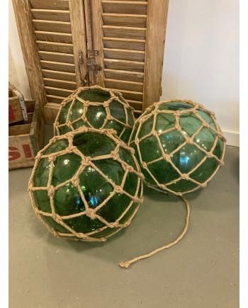 Dekorative Grønne Glaskugler